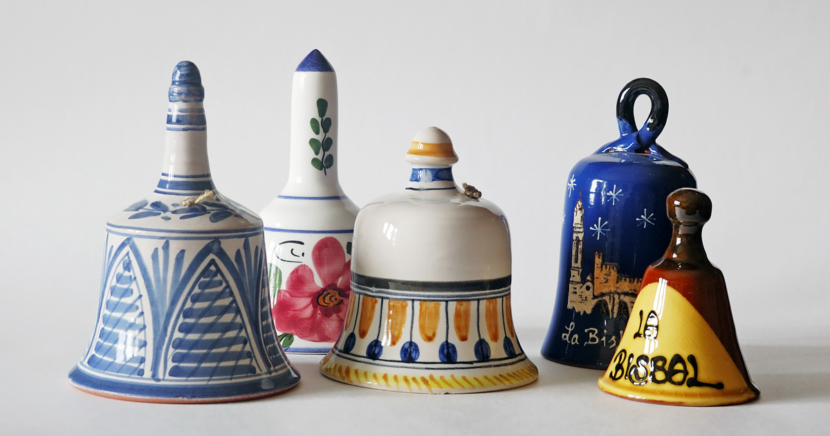 Колокольчики, привезенные из Ла Бисбаля