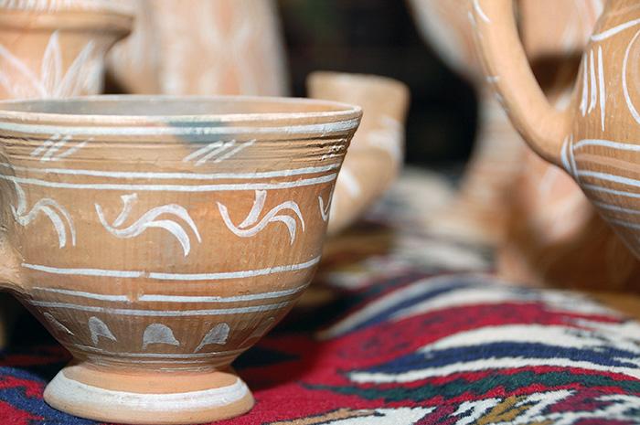 Балхарская керамика. Ладья 2012
