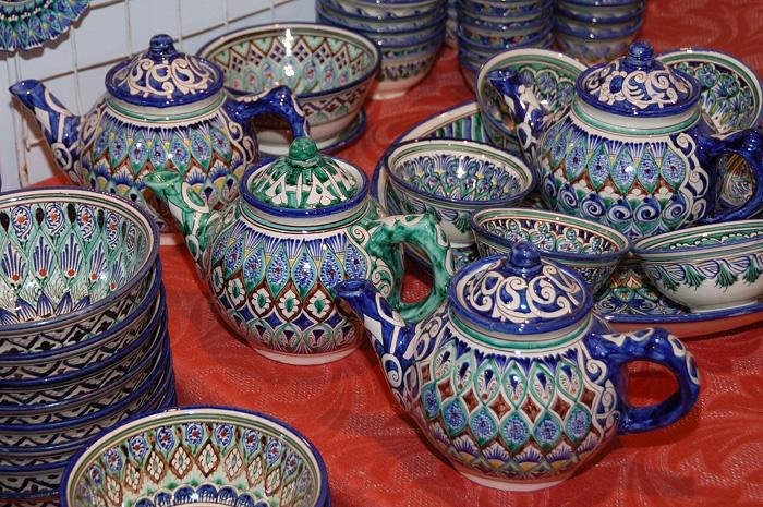 Риштанская керамика. Ладья 2012