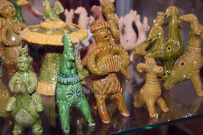 Петровская глиняная игрушка. Ладья 2012