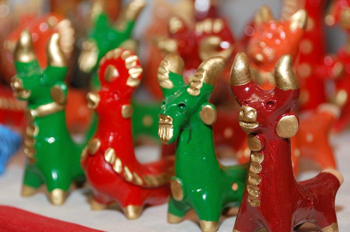 Абашевская глиняная игрушка. Ладья 2012