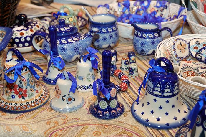 Колокольчики Болеславская керамика. Ладья 2012