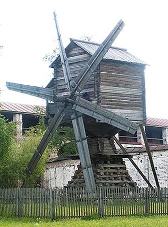Мельница в Кириллове