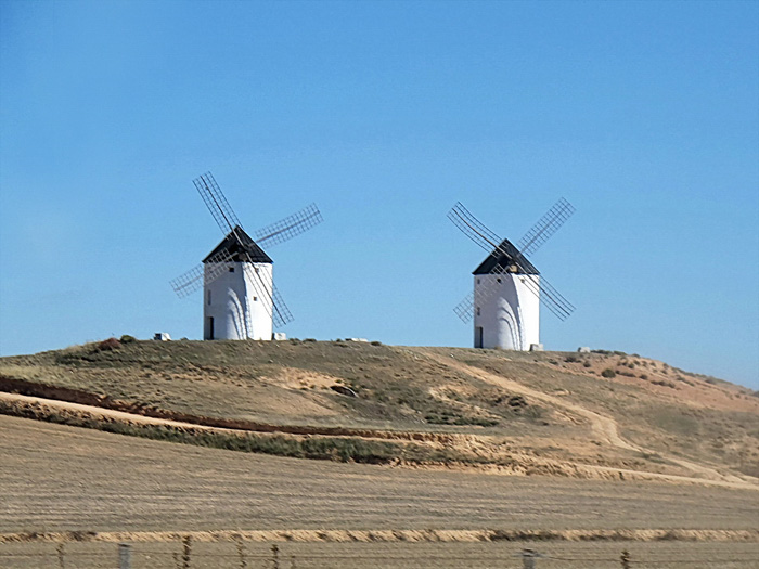 Мельницы в Испании