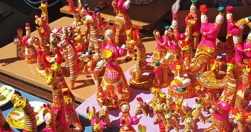 Филимоновская игрушка на фестивале Сказки деда Филимона