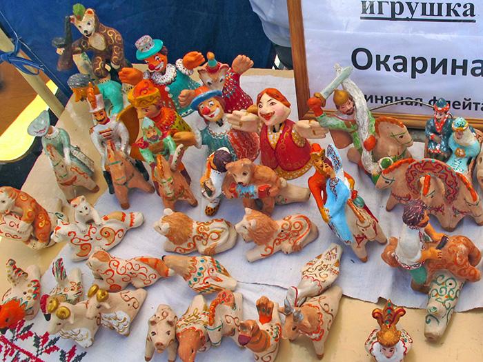 Богородицкая игрушка на фестивале Сказки деда Филимона