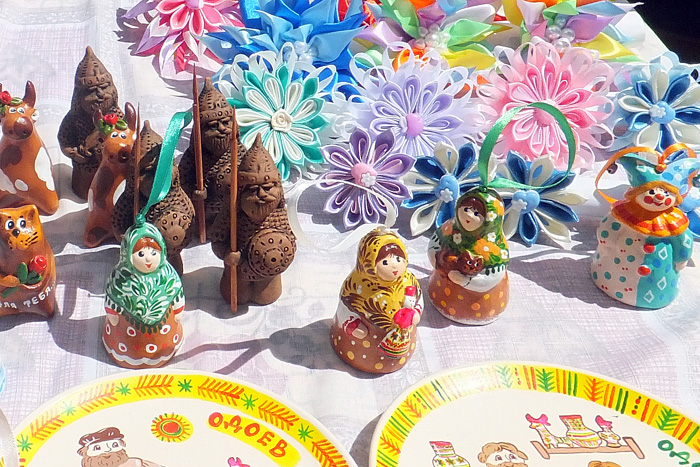 Колокольчики на фестивале Сказки деда Филимона