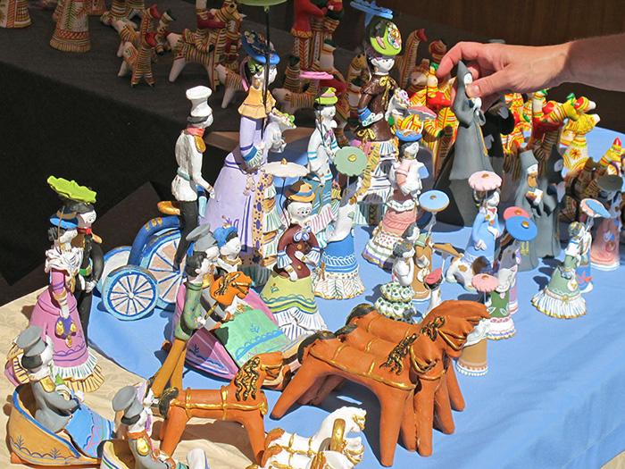 Тульская городская игрушка на фестивале Сказки деда Филимона