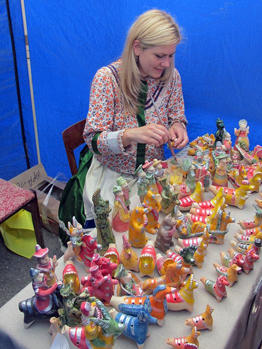 Романовская игрушка на фестивале Сказки деда Филимона