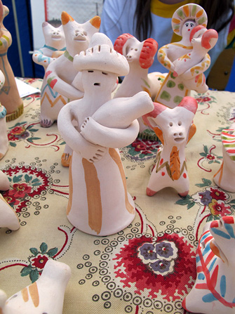 Старооскольская игрушка на фестивале Сказки деда Филимона