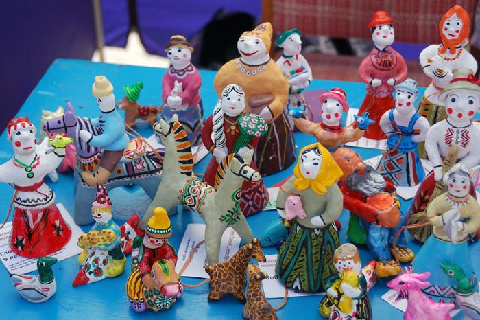 Театр глиняной игрушки на фестивале Сказки деда Филимона