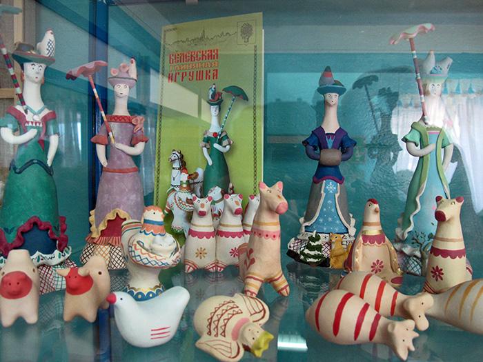 Одоев. Музей филимоновской игрушки. Белевская игрушка