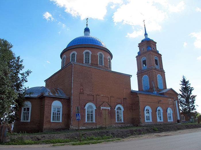Одоев. Троицкая церковь