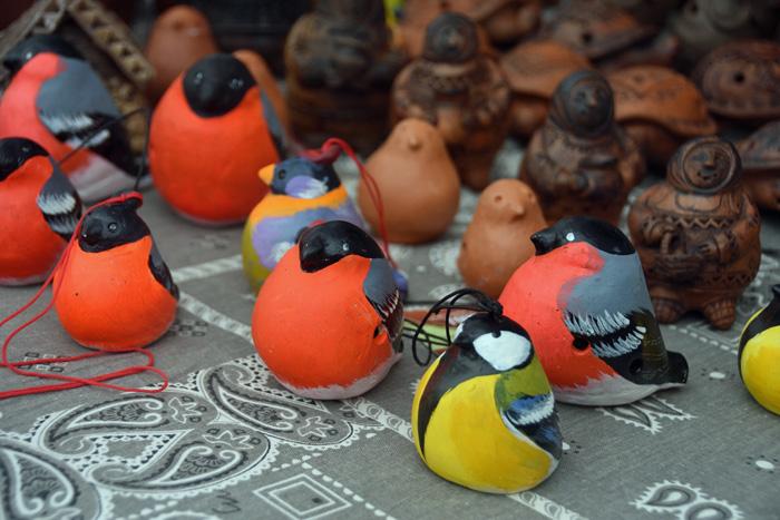 На II Открытом фестивале российской керамики в Раменском