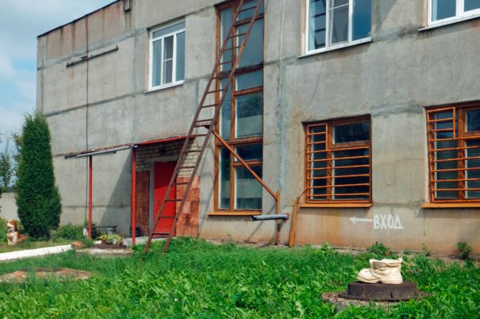 Скопинская керамика. Здание