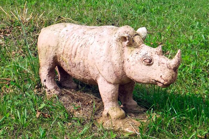 Скопинская керамика. Носорог