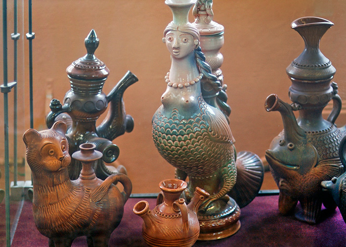 Скопинская художественная керамика