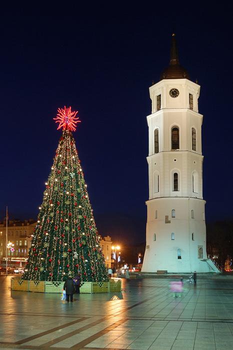 Ёлка в Вильнюсе