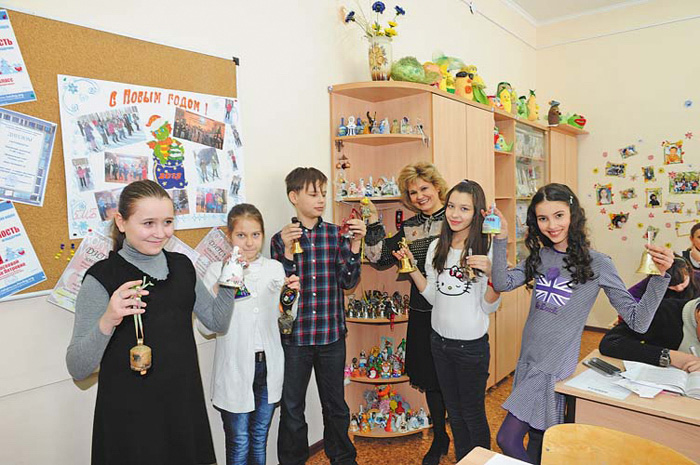 Коллекция колокольчиков самарских школников