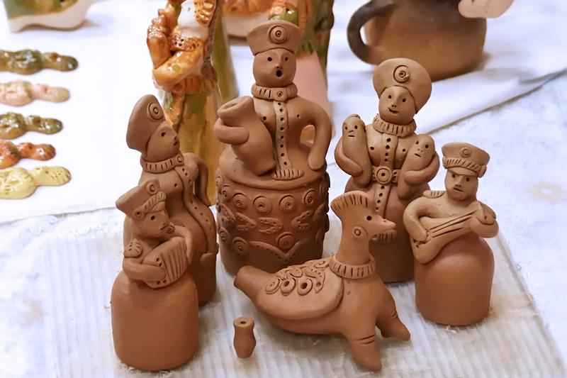 Добровская глиняная игрушка