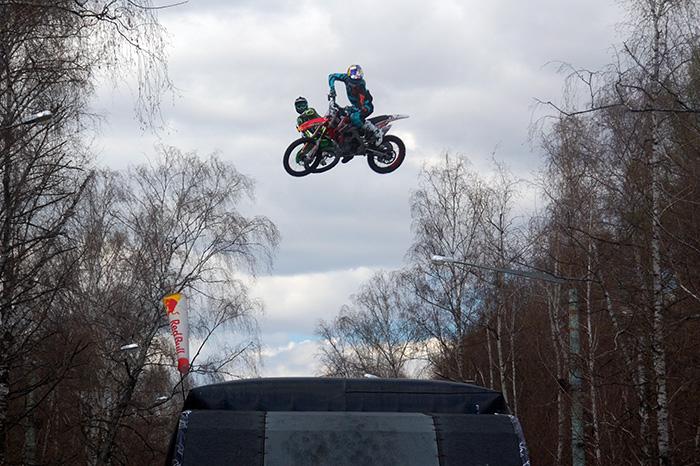 Сокольники, мотоциклисты