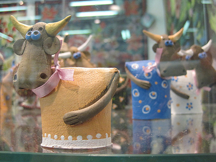 На фестивале народных промыслов Жар-птица. Керамика