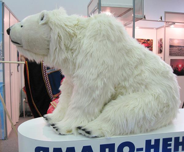 На фестивале народных промыслов Жар-птица. Медведь