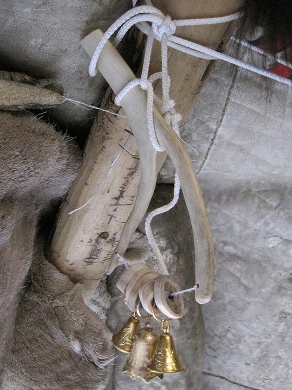 На фестивале народных промыслов Жар-птица. Рогатка с колокольчиками