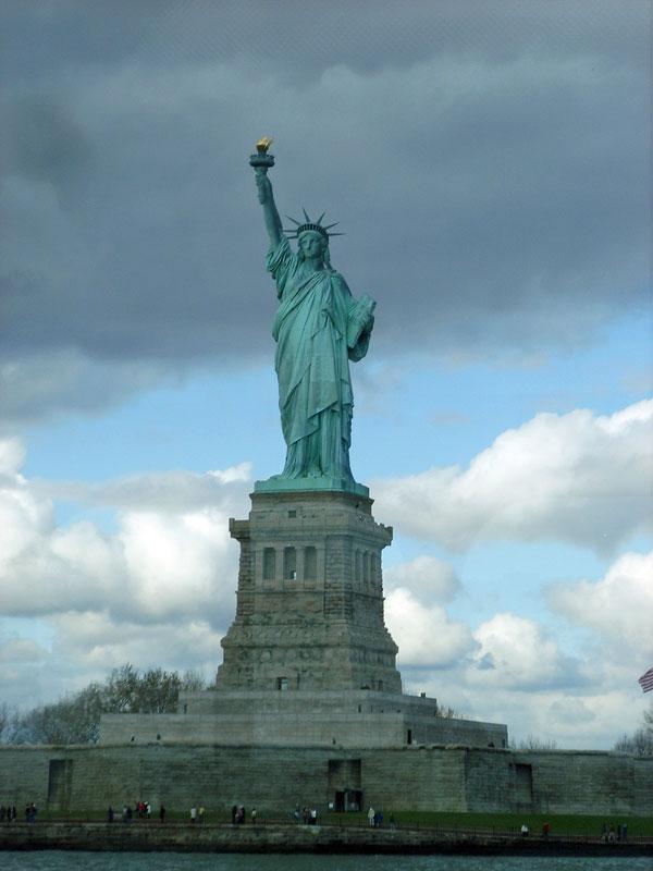 Статуя свободы на майнкрафт скачать