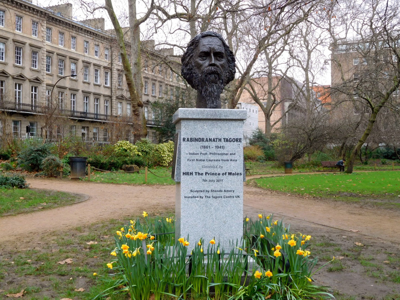 Tagore, Gordon Square, London