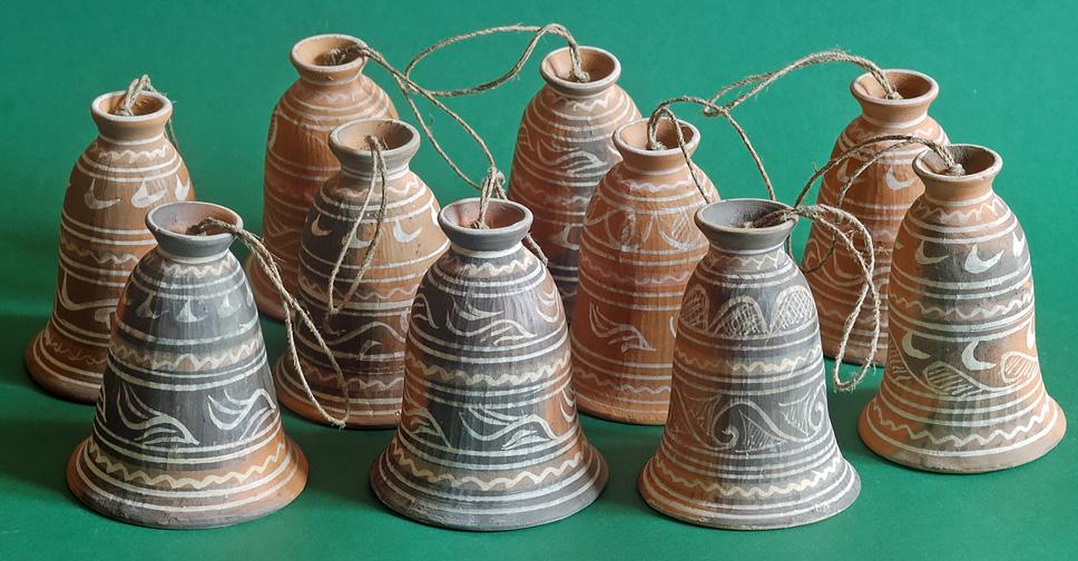 Колокольчики. Балхарская керамика