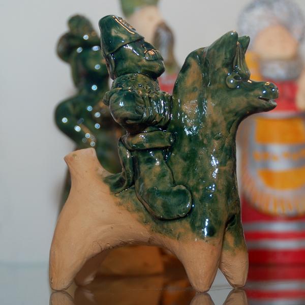 Романовская игрушка Колокольчики и народные промыслы Романовская глиняная игрушка
