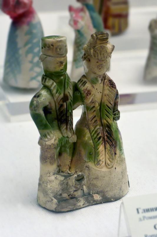 Романовская игрушка Колокольчики и народные промыслы Романовская глиняная игрушка Государсвенный Русский музей