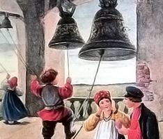 На колокольне