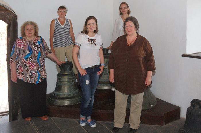 В Луцком музее колоколов мок Любарта, Луцк 11 июня 2012 г. Фото В. Леонова